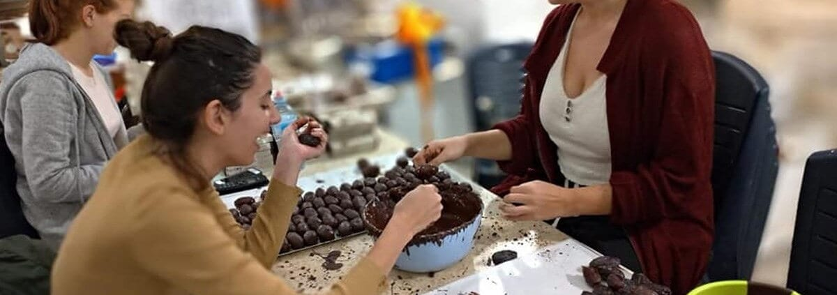Sweet Ein Kerem chocolate-making