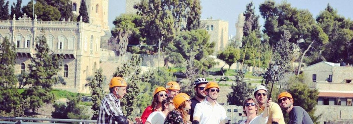 Jerusalem by the light of the moon: segway tours